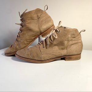 Sam Edelman Mare Lace Up Booties Women's Size 11